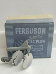 Ferguson Plow 1/12 Toppings Plastic Fits Ferguson 30 Tractor 1950and039s Vintage