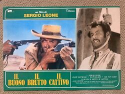 Good The Bad And The Ugly Original Italian Movie Posters Eastwood Leone