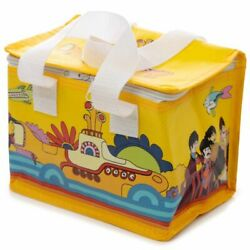 Yellow Submarine Beatles Cool Bag Mini Lunch Bag Lunchbox Woven Insulated Cooler