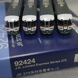 Tomix 373 Series N Gauge Train Model Set Used Genuine Free Shipping From Japan