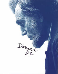 Daniel Day Lewis Lincoln Authentic Signed 8.5x11 Photo Psa/dna X00744