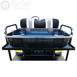 Golf Cart Cargo Caddie Removable Utility Bed For Rear Flip Seat Kits Roof Tops