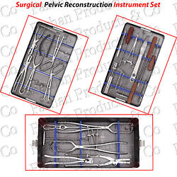Pelvic Reconstruction Instrument Set Surgical Orthopedic Instruments Stainless