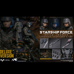 Vts Toys Vm037dx 1/6 Starship Force-team Leader Collectible Figure Deluxe Ver.