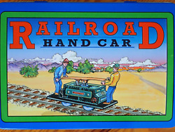 Vintage1999 Schylling Collection Series Railroad Hand Car Tintoy New In Tin Box