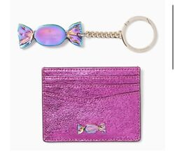 Kate Spade Candy Shop Boxed Candy Set Card Holder And Keychain Charm In Gift Box