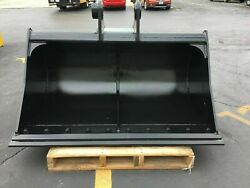 New - 60 Ditch Cleaning Bucket For A John Deere 490