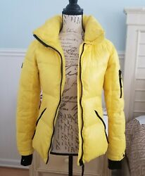Women#x27;s SAM. New York New Freestyle Down Jacket Small puffer quilted $135.00