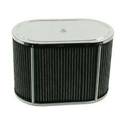 Air Cleaner Assembly For Idf And Hpmx 5.5x9 Oval 6 Tall Dunebuggy And Vw