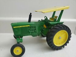 Vintage 1960and039s John Deere 3020 Wide Front W/plastic Rims And Rops By Ertl -1/16
