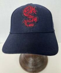 Polo Men's Polo Clotchinese New Year Dragon, Wool Cap, Hat, Navy