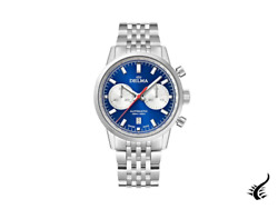 Delma Racing Continental Automatic Watch, Blue, 42 Mm, 41701.702.6.041