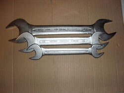 Heyco 350 Metric Spanners Made In West Germany Sizes46x41and 36x32 And 27x24