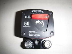 Blue Sea Systems 7139 187-series 50 Amp Circuit Breaker Surface Mount