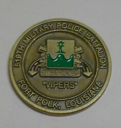 519th Mp Military Police Vipers Challenge Coin