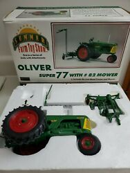 Speccast 1/16 2006 Summer Farm Toy Show Oliver Super 77 With 82 Mower