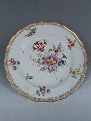 Meissen Porcelain Plate Set Of 6very Good Condition