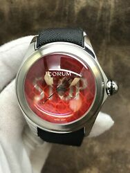 Corum Big Bubble Stop 52 082.310.20/0601 Red Dial Automatic Men's Watch