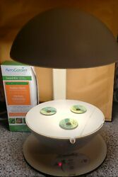 Aerogarden 3 Pod White Hydroponic Planter Indoor Light Growing System W Seed Kit
