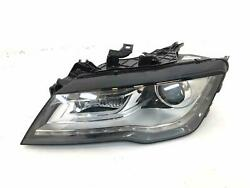 Xenon Headlight With Led Running Light 4g8941031e Audi A7 S7 2012-2015 Lh Driver