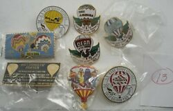 Lot Of 8 Kentucky Derby Festival And Other Hot Air Balloon Pins