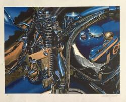 Scott Jacobs- Serigraph On Paper Flawless