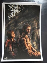 The Last Of Us King And Lionheart Print By Alice Zhangandnbspap Mondo Artist 13 X 19