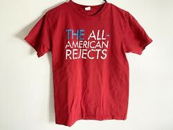 The All American Rejects Red Band T Shirt Size M Medium