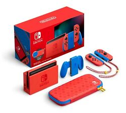 Nintendo Switch Mario Red And Blue Edition 32gb Unopened