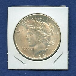 1923 S Peace Dollar Uncirculated Us Mint Silver Coin Rare Bu 1923-s Ms++++++