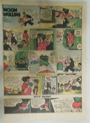 26 Moon Mullins Sunday Pages By Frank Willard From 1944 Size 11 X 15 Inches
