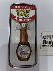 Armitron Collectibles Looney Toons Watch 1989 Slyvester Bugs Bunny, Donald Duck