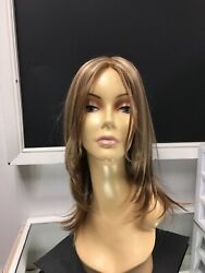 Envy Roxie Long Lace Front Monofilament Hand Tied Layered Wig Dark Blonde