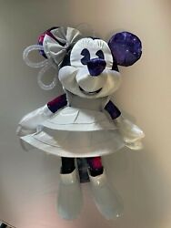 Minnie Mouse The Main Attraction January Space Mountain Plush And Pins