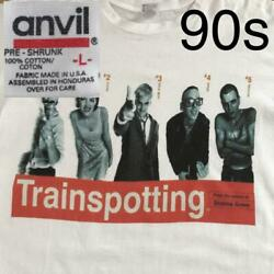 Trainspotting 90's Vintage Anvil T-shirt Size L F/s From Japan