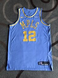 Channing Frye Lakers Jersey Mpls Team Issued Nike Size 52+4 Blue 2017-18