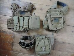 Condor Cyclone Plate Carrier Vest Kit Loadout Tactical Backpack Belt Eagle Pouch