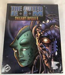 Twilight Imperium The Outer Rim Expansion Set Board Game Fantasy Flights Games