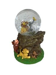 """Disney The Lion King Musical Snow Globe Water Ball """"a Dream Is A Wish Your Heart"""