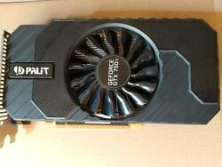 Palit Geforce Gtx750ti 2g Graphic Board Dhl Fast Delivery In Good Condition