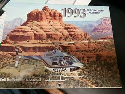 Lot Of 3 Bell Helicopter Calendars199319981999 Employee Owned