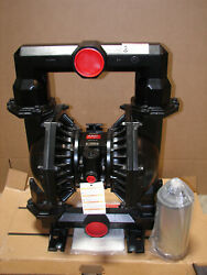 New Aro Pd30a-aap-ggg-c Double Diaphragm 3 Pump, 120 Psi, Nitrile, 237 Gpm