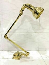 Long Arm Vintage Modern Light Wall Swinger Arm Brass Stretchable Lamp Lot Of 10