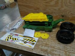 Rolly Toys John Deere Farm Trailer With Detachable Sides For Pedal Tractor Yout