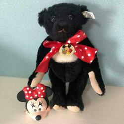 Steiff Disney World Convention Teddy Bear Minnie Mouse 1992 Limited F/s From Jp