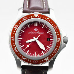 Fifth Avenue Made By Fricker 43mm Stainless Steel 1000m Germany Auto Tool Diver