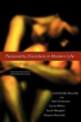 Personality Disorders In Modern Life By Millon Theodore|millon Carrie M.|meandhellip