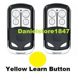 2 For Liftmaster Craftsman Garage Door Opener Remote 891lm 893lm 953ev Keychain