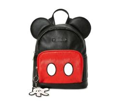 DISNEY MICKEY MOUSE LICENSED Mini Backpack Purse with Ears $28.48