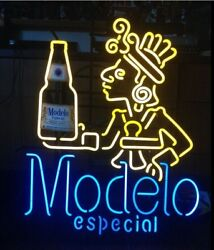 Neon Signs Gift Modelo Especial Beer Bar Pub Party Store Room Wall Decor 19x15